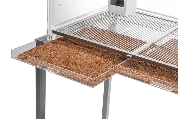 Removable Acrylic Bottom Trays